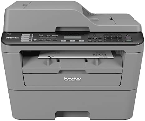 Brother MFCL2700DNG1 - Impresora láser Monocromo, Color Gris ...