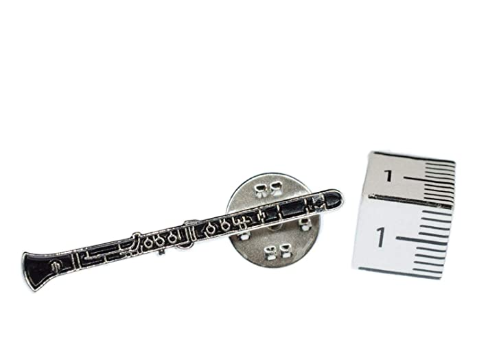 miniblings Clarinete Broche Insignias Instrumento música ...