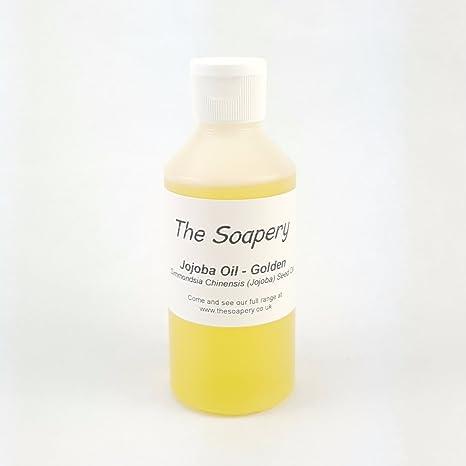 Aceite de Jojoba 250 ml de oro – 100% Pure, sin refinar y Natural