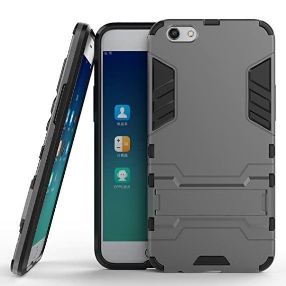 various colors 35217 161fd Amazon.com: Oppo R9s Hybrid Case, Oppo R9s Shockproof Case, Dual ...