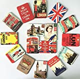 Ximalaya England Queen Fridge Magnet London City Magnets Home Decoration Souvenir (Pack of 24)