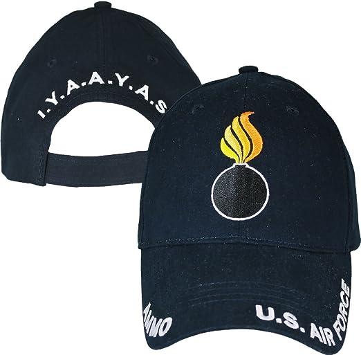 USAF Ammo Navy Blue Baseball Cap U.S Air Force IYAAYAS Hat