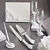 Fairy Tale Design Cinderella Slipper Complete Wedding Accessory Set