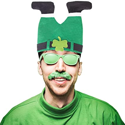 7fd31d762b5b Amazon.com  DomeStar St Patricks Day Hat