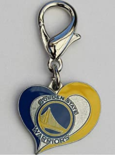 product image for Diva-Dog NBA Basketball 'Golden State Warriors' Licensed Team Dog Collar Charm