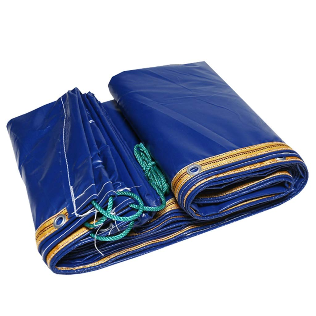 QXJPZ Blaue Plane Auto Auto Plane Boot Dach Regen Abdeckung Camping Anhänger Zelt - 100% Wasserdicht Und UV-Schutz, Dicke 0,35 Mm Multifunktions Durable Vielzahl von Größen (größe   3MX6M) 8bed7b