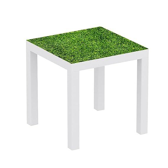 Metacrilato para Mesa IKEA Lack Personalizada Cesped | Medidas 0 ...
