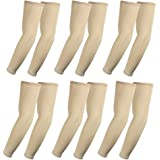 The Elixir Compression Arm Sleeve (Full Length) UV Protective Anti-slip Arm Cover (Pack of 6 Pairs)