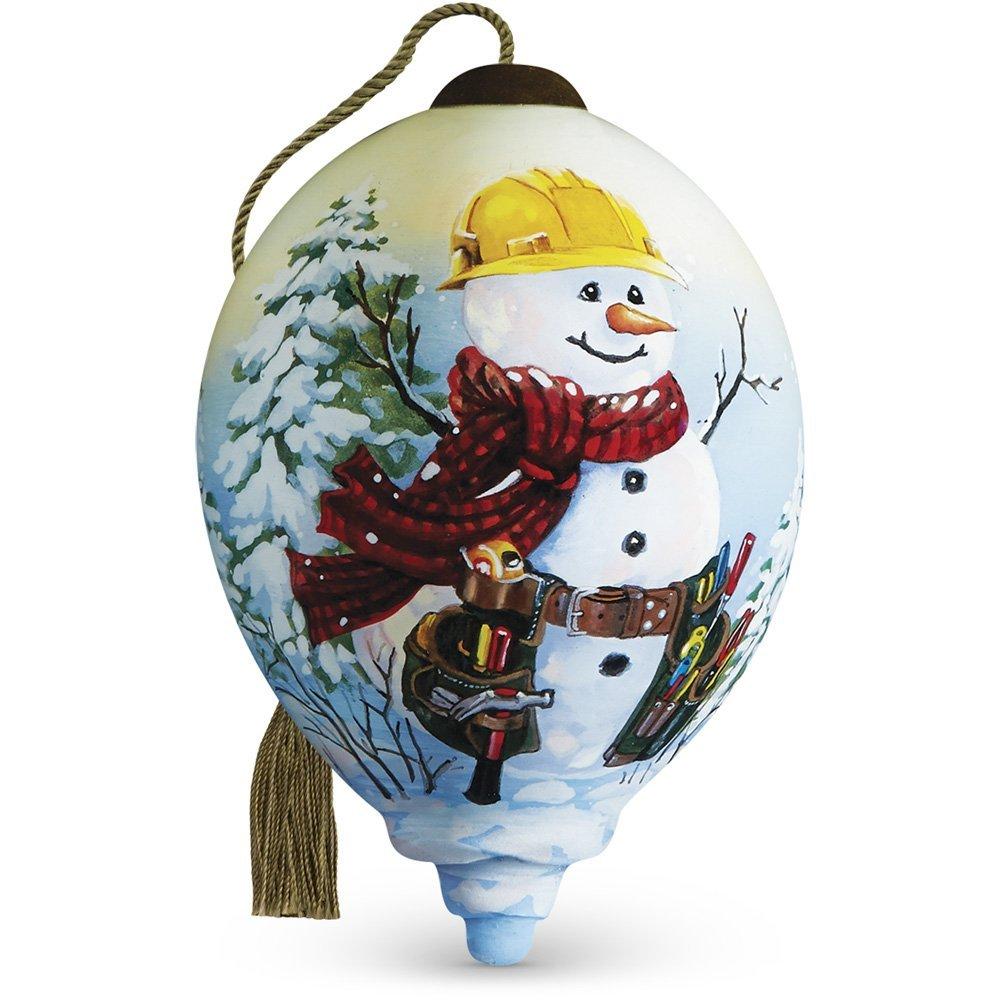 Ne'Qwa Art, Handy Helper Snowman,Christmas Gifts,
