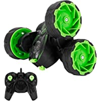 RC Stunt Car, Monster Truck Off-Road Cars, 2.4GHz 4WD Remote Control, MakeTheOne Durable RTR RC Buggy, Rotate 360 Double…
