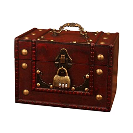 Amazon Com Labyrinen Antique Jewelry Box Handmade Gift