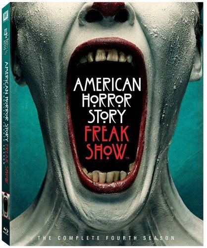 Blu-ray : American Horror Story: Freak Show: The Complete Fourth Season (Digital Theater System, Digitally Mastered in HD, Widescreen, , 3 Disc)