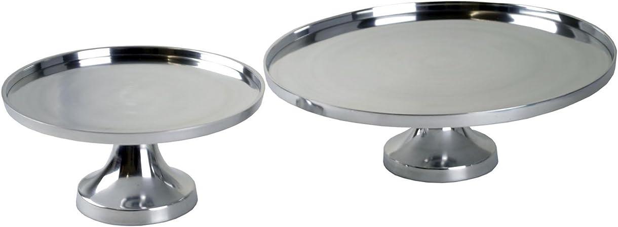 Casablanca Plato Decorativo (con Soporte Aluminio Pulido 25/35 ...