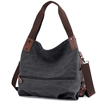 97a29c9151779 Huttoly Canvas Tasche Damen Umhängetaschen Handtasche Vintage Schultertasche  Crossbody Bag Tasche Shopper Beuteltasche