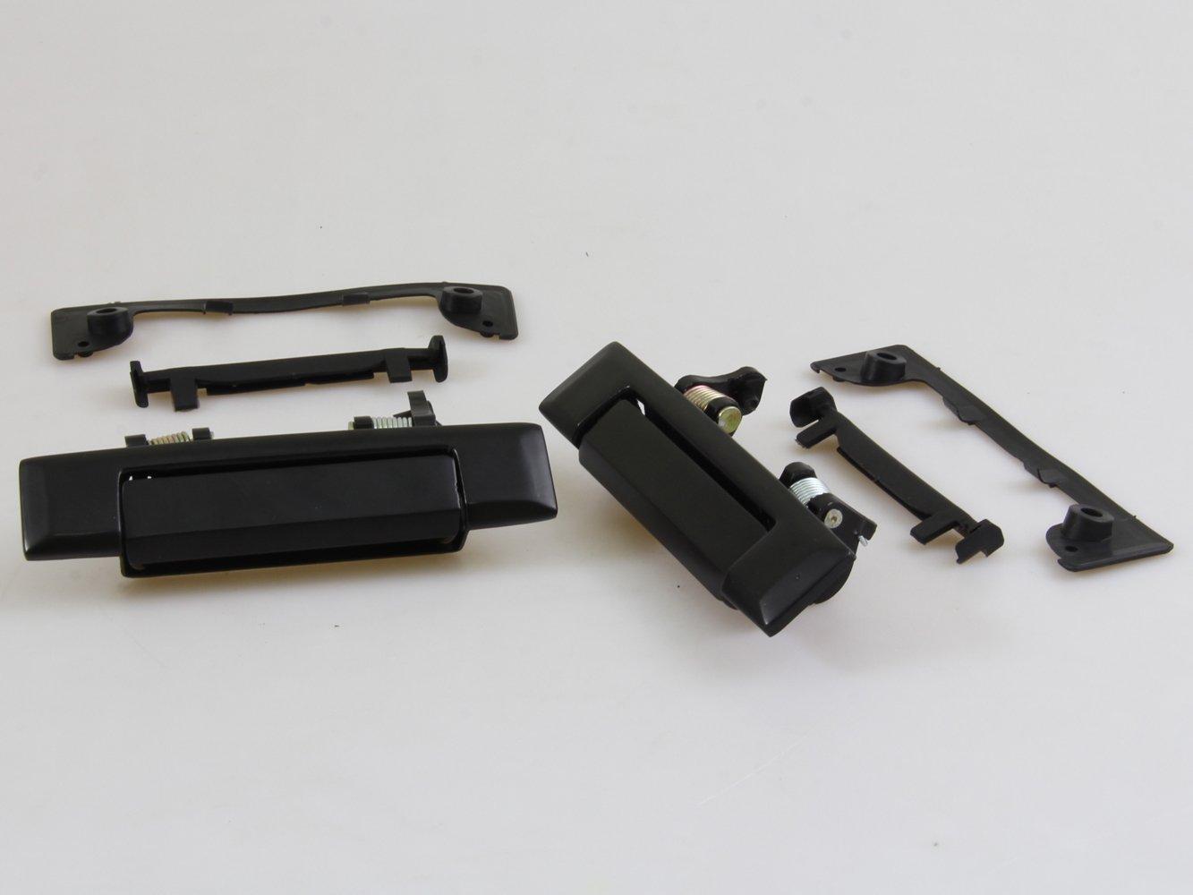 New Black Door Handles LH&RH Fit TOYOTA COROLLA KE70 KE72 KE75 TE71 TE72 1979 1980 1987 Pai Square