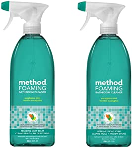 Method Tub and Tile Bathroom Cleaner, Eucalyptus Mint - 28 oz - 2 pk