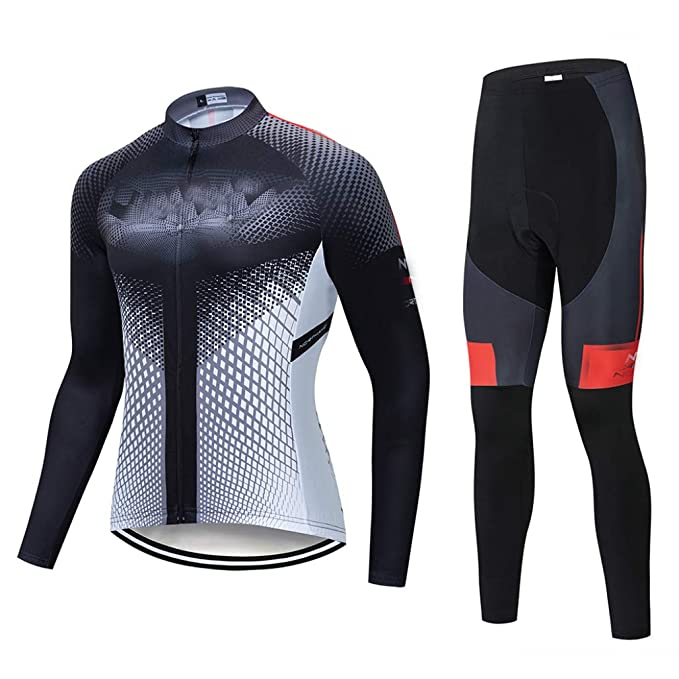 Amazon.com: Ciclismo Jersey Conjunto de babero Pantalones ...
