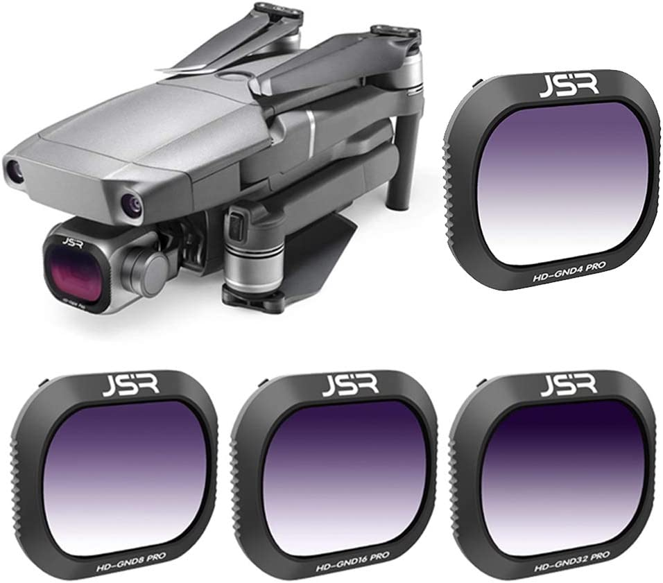 HD-GND4//8//16//32 Optical Glass Camera Photography Filter Lens for DJI Mavic 2 Pro Wulidasheng Camera Filter HD-GND16