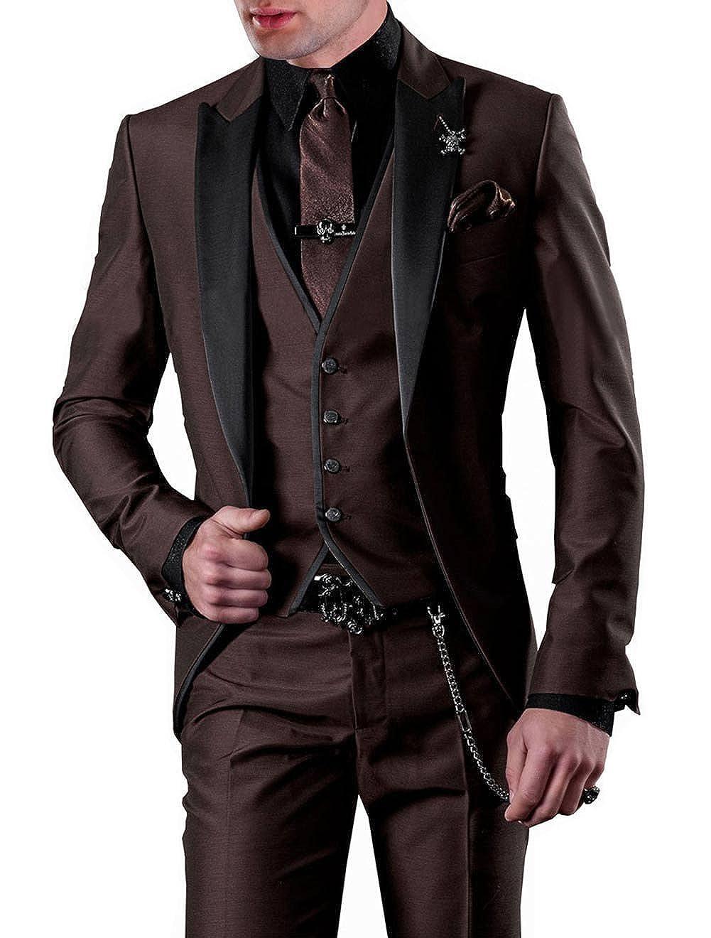 YYI - Abito - Uomo 52 IT regolare giacca cc9e65a9d96