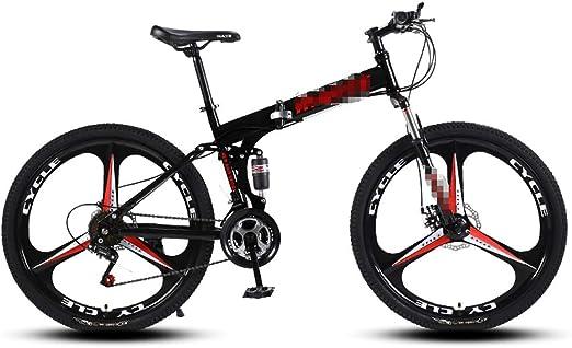 DLT 3 Spoke montaña Bicicleta Plegable Ruedas de Bicicletas con 24 ...