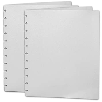 Amazon.com : Levenger Translucent Circa Covers, Letter - Set of 2 ...