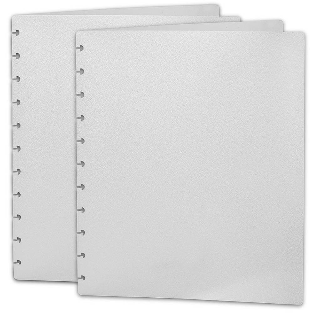 Levenger Translucent Circa Covers, Letter - Set of 2 (ADS4285 LTR)
