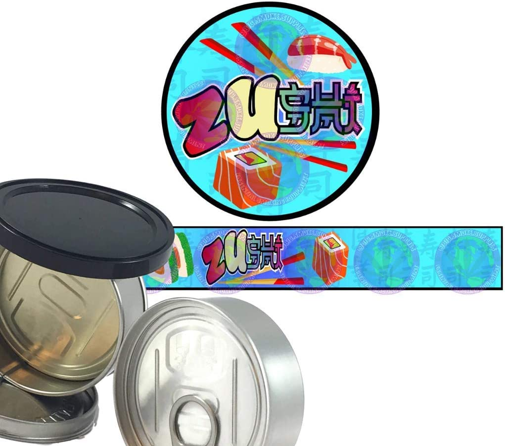 Zushi Round /& Long PRESSITIN 32 Novelty Fun Sticker Labels -