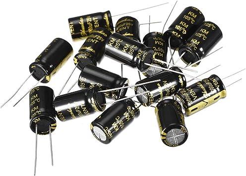 10 Piece Elko Capacitor 10µf 100v D 8,7 mm x 12,5 MM