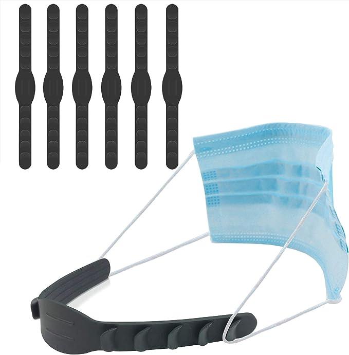Goldodo Strap Extenders 5Pcs Ear Protector Adjuster Band Soft Adjustable Extending Belt Hook