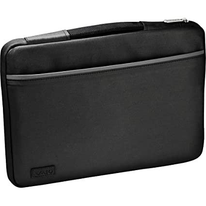 3b161dbcec7b Amazon.com: Sony IT VAIO Slipcase - Black with Silver Accents (VGP ...