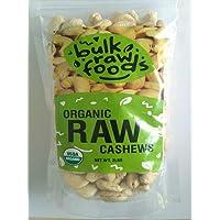 Organic Raw Whole Cashews 6 Pounds100% Premium Large Whole Gluten Free Snacks by BulkRawFoods (organic, 6lbs)