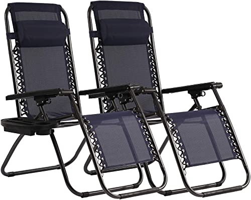 Reviewed: Zero Gravity Chair Patio Lounge Recliners Adjustable Lounge Outdoor Chairs