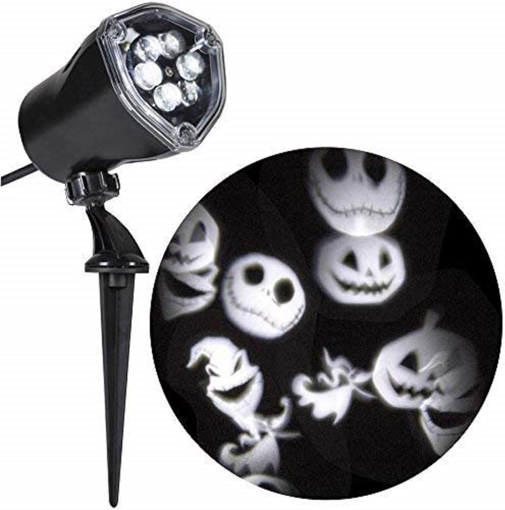 Gemmy Nightmare Before Christmas Jack Skellington Whirl-A-Motion Projector Light