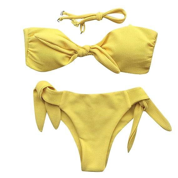 aeb8bbcccd58 Traje de Baño Mujer Dos Piezas Sexy 2019 PAOLIAN Bikini Brasileña ...