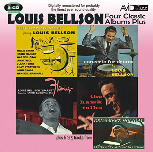 Avid Cd - 4 Classic Albums Plus - Louis Bellson - Just Jazz All Stars / Cto for Drums / At Flamingo
