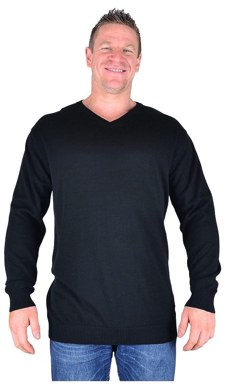 Big Mens Black Cotton Valley Dru Fine Knit Cotton Sweater 2xl 3xl 4xl 5xl