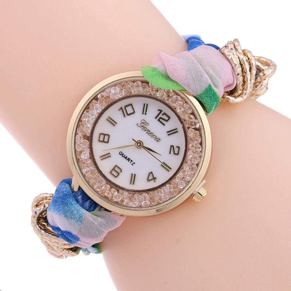 Montre Montre Dames Bracelet Montre Cadeau Imprimé Sangle De Gaze Enroulement Bracelet Montre Belle Montre Cadeau Montre 2