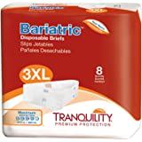 Tranquility Bariatric Disposable Briefs - XXXL - 32 Ct