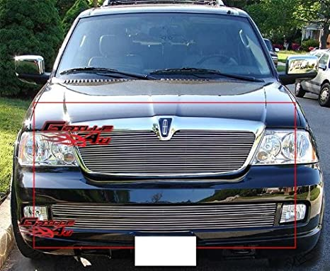 APS Compatible with 1998-2002 Lincoln Navigator Billet Grille Combo L87963A