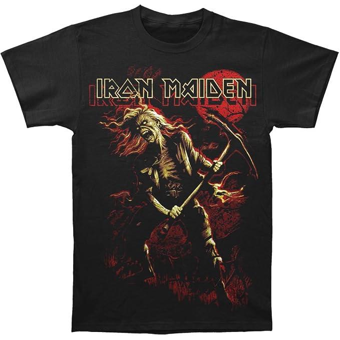 Iron Maiden - Benjamin Breeg camiseta de los hombres de, XX-Large, Black: Amazon.es: Ropa y accesorios