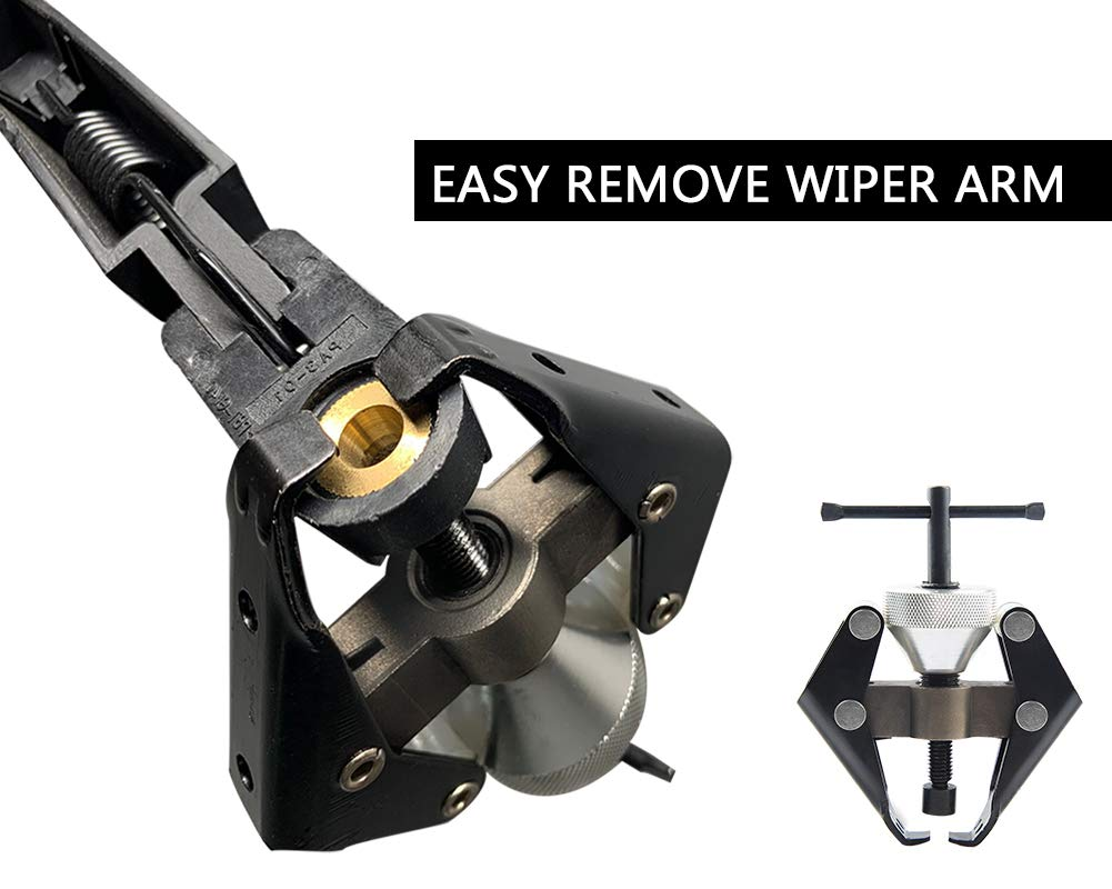 AUTOBOO Wiper Arm Puller and Car Battery Terminal Remove Tools