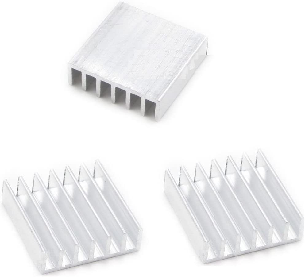 10pcs DIY Aluminum Heat Sink 14x14x6mm for LED Power Memory Chip CA