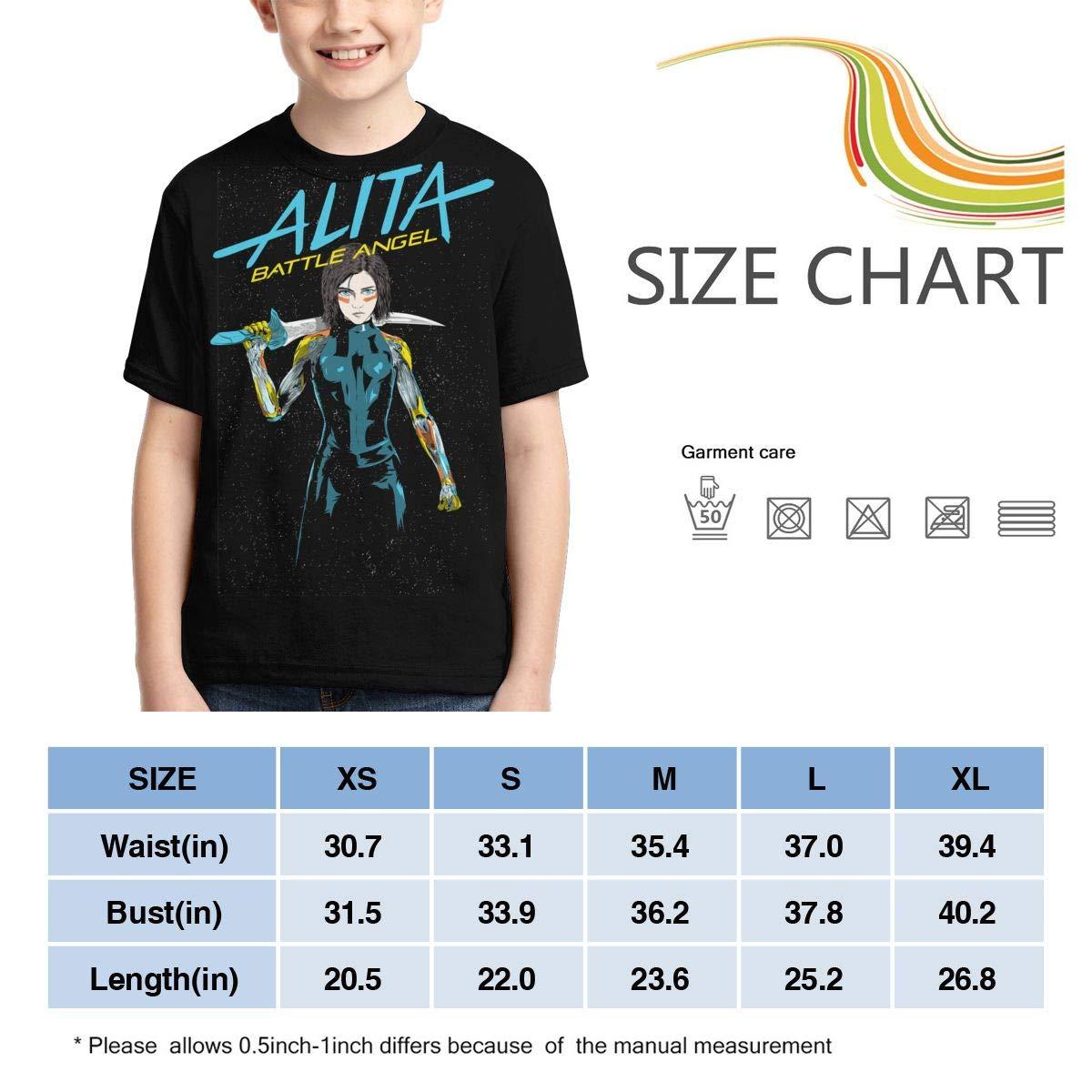 Lizhiguozhuanmai Boys,Girls,Youth Alita Tshirts