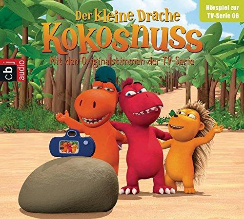 Der Kleine Drache Kokosnuss - Hörspiel zur TV-Serie 06: Die Schatzkarte. Bauch, Beine, Po. Vater und Sohn. Big Bo auf Trampelkurs (Audio-CDs zur TV-Serie, Band 6)