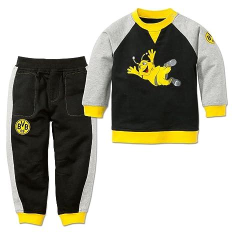 Borussia Dortmund BVB Niños de Largo de Baby Jogger, Negro/Gris ...