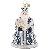 Christopher Radko Hand-Crafted European Glass Christmas Decorative Figural Ornament, A Beacon of Brilliance