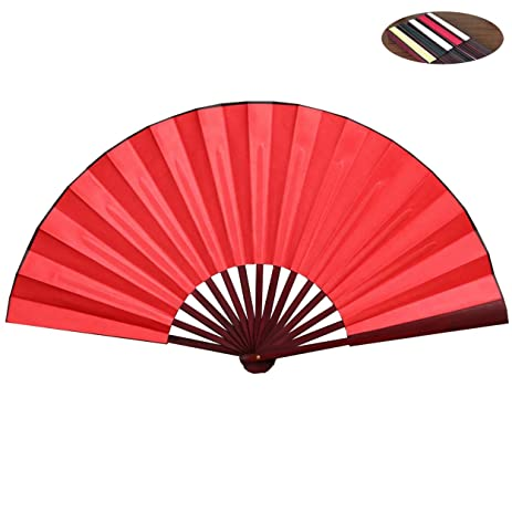 Amazon honshen folding hand fan bamboo blank chinese hand fan honshen folding hand fan bamboo blank chinese hand fan wedding party gift with traditional chinese arts junglespirit Images