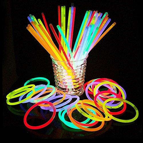 Glow Sticks Bulk Party Favors Supplies 100 Count - 8