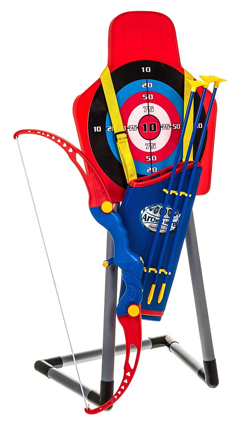Fineway Kids Toy Boy Archery Set With Arrow Holder With Target Stand Indoor Outdoor Garden Fun Game Buy Online In Faroe Islands At Desertcart Productid 71914568 You'll receive email and feed alerts when new items arrive. desertcart