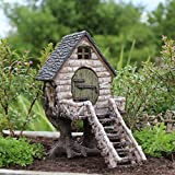 Miniature Fairy Garden River Birch Tree house